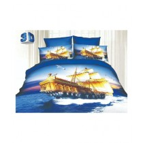 RGshop 3D Double Bed Sheet (0399)