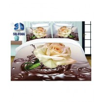 RGshop 3D Double Bed Sheet (SD-0566)