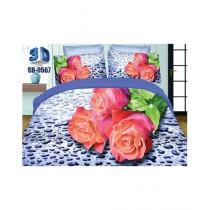 RGshop 3D Double Bed Sheet (SD-0567)