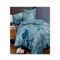 RGshop Dench King Size Bedsheet With 2 Pillow Covers (0444)