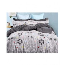 RGshop Dench King Size Bedsheet With 2 Pillow Covers (0447)
