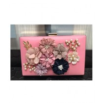 RGshop Flower Clutch For Women (RG-0146)