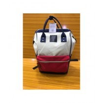 RGshop Formal Backpack For Women White/Pink