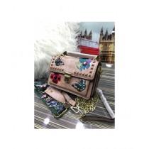 RGshop Traditional Design Embroidered Handbag For Women