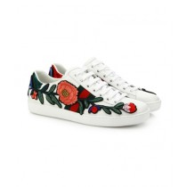 Rhizmall Floral Breathable Sneakers For Unisex White