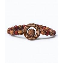 Rhizmall Nuclear Beads Ethnic Vintage Bracelet For Women