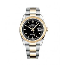 cd02ac6d2b1 Rolex Datejust 36 Men's Watch Yellow Gold (116233-BLKSO)