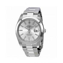 ffc7cb60cbe Rolex Datejust 41 Men s Watch Silver (126300SSO)