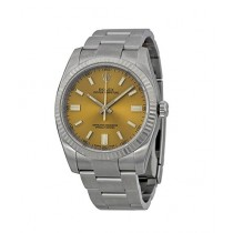 bd8b52701c2 Rolex Oyster Perpetual Men s Watch Silver (116034WGSO)