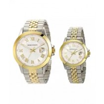 Romanson Analog Watch For Couples Two-Tone (TM0361)