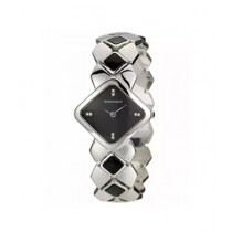 Romanson Analog Women's Watch Silver/Black (RM1202-LW-BK)