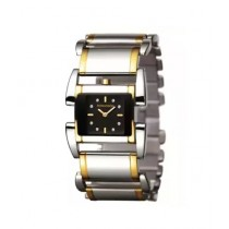 Romanson Analog Women's Watch Silver/Gold (RM1201-LC-BK)