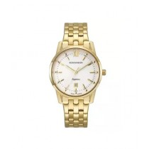 Romanson Crystal Women's Watch Gold (TM7A20-LG-WH)
