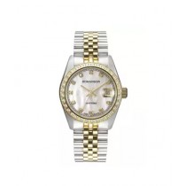 Romanson Quartz Women's Watch Two-Tone (TM7A23Q-LC-WH)