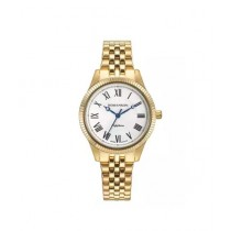 Romanson Stainless Steel Women's Watch Gold (TM7A19-LG-WH)
