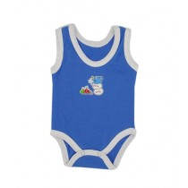 Rompers Sleeveless Body Suit For New Born Babies Blue (0016)