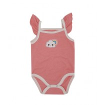 Rompers Top Tank Body Suit For New Born Babies Pink (0006)
