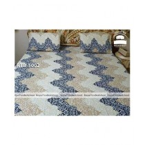 Royal Tex Printed Double Bed Sheet (RTB-5002)