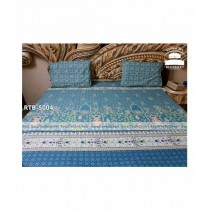 Royal Tex Printed Double Bed Sheet (RTB-5004)
