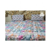 Royal Tex Printed Double Bed Sheet (RTB-5023)