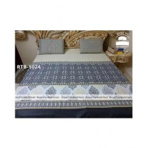 Royal Tex Printed Double Bed Sheet (RTB-5024)