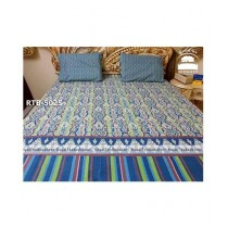 Royal Tex Printed Double Bed Sheet (RTB-5025)