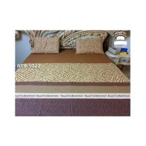 Royal Tex Printed Double Bed Sheet (RTB-5027)