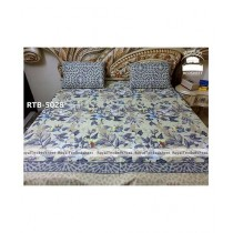 Royal Tex Printed Double Bed Sheet (RTB-5028)