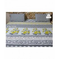 Royal Tex Printed Double Bed Sheet (RTB-5032)