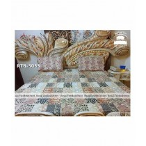 Royal Tex Printed Double Bed Sheet (RTB-5033)
