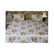 Royal Tex Printed Double Bed Sheet (RTB-5034)