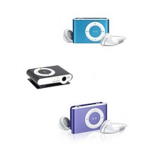 Rubian Shuffle MP3 Players - Pack Of 3