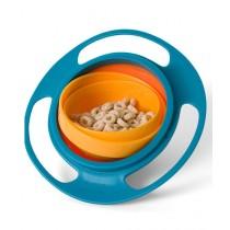 Rubian 360 Rotate Gyro Bowl For Children - Pack Of 2
