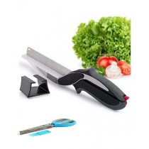 Rubian 5 Layer kitchen Scissors & Clever Cutter - Pack Of 2