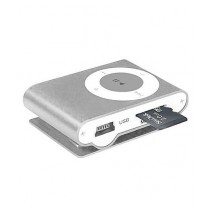 Rubian MP3 Player with 2GB Memory Card - Silver