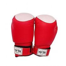 Rubian Store Boxing Punching Gloves Pair Red