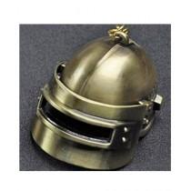 Rubian Store PUBG Helmet Keychain Gold