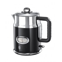 Russell Hobbs Retro Electric Kettle Black (21671)