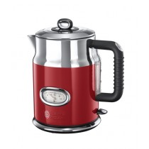 Russell Hobbs Retro Ribbon Electric Kettle Red (21670-70)