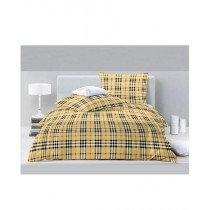 Jamal Home King Size Bed Sheet With 2 Pillows (0042)