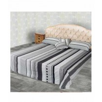 Jamal Home King Size Bed Sheet With 2 Pillows (0057)