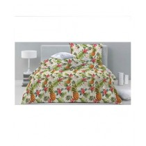 Jamal Home King Size Bed Sheet With 2 Pillows (0066)