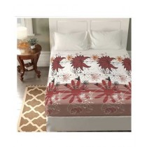 Jamal Home King Size Bed Sheet With 2 Pillows (0071)