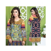 Safwa Digital Viscose Kurti For Women (DG-989)