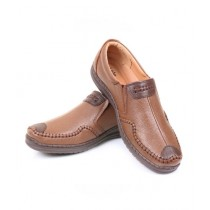 Sage Leather Casual Shoes For Men Mustard (110318)