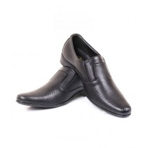 Sage Synthetic Leather Formal Shoes For Men Black (230190)