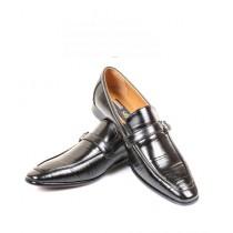 Sage Leather Formal Shoes For Men Black (260026)
