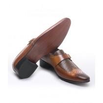 Sage Leather Formal Shoes For Men Brown (1629)