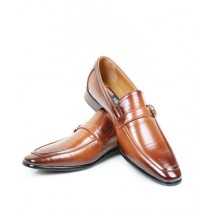 Sage Leather Formal Shoes For Men Brown (260026)