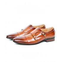 Sage Leather Formal Shoes For Men Brown (260030)